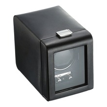 Cozyswan Single Watch Winder with Cover, Black