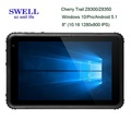 dual band wifi 8inch/10inch IP67 window10 rugged tablet pc barcode scanner Quad Core 5MP Camera RFID window