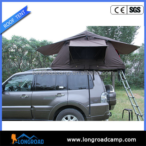 small camping trailers Retractable outdoor camping expedition suv tent
