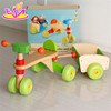 Comfortable Safe Wooden tricycle for kids,High Quality Solid Wood Toy Kids Wooden Tricycle for Sale W16A020