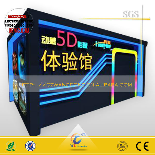 Hydraulic/electric System 3g mobile movies / 5d theater / 9d cinema simulator