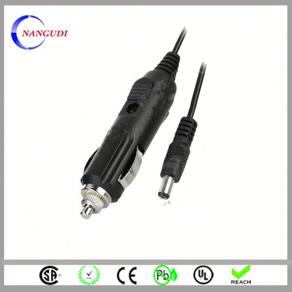 ac dc car cigarette lighter socket adapter cable