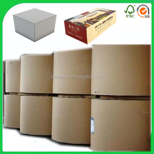 Factory Direct 100% Wood Pulp 230 250 300 350 400gsm Fbb Paper Board / ivory board / folding box board
