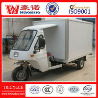 2013 new China cargo tricycle with closed box