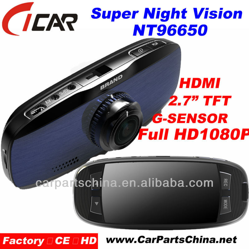 Manufacturer, Night Vision Full Hd 1080P WDR Car Roof Camera With Gps, NT96650