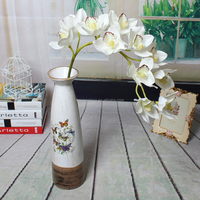 Silk artificial modern decorative flower real touch orchid