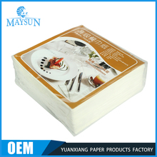 Manufacturers Wholesale Printing Standard Cloth Sizes Paper Sanitary Towel Hotel Serviettes Kitchen Dinner Table Napkin