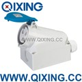 male and female industrial plug and socket 16A 3P 250V 6H