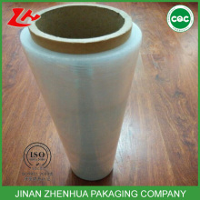 Linear low density polyethylene clear LLDPE stretch film jumbo roll