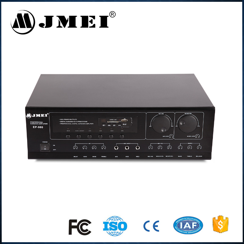 EP-980 Power Sound System Professional Stereo Karaoke Amplifier