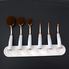 2017 HOT cosmetic <strong>brush</strong> professional magnet oval toothbrush makeup <strong>brush</strong>