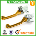 Aluminum Adjustable Motorcycle Brake Clutch Levers for Suzuki dirt bike