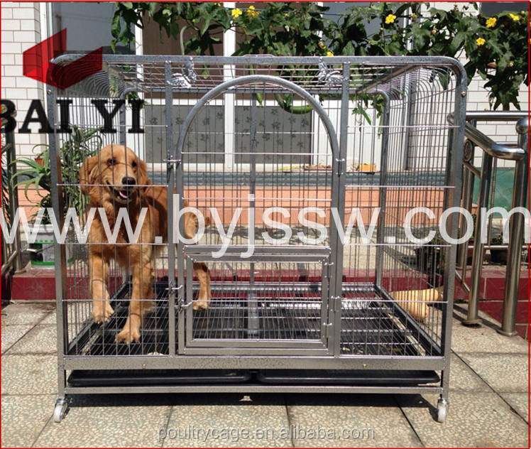 Wholesale Collapsible Steel Bar Dog Cages And Unique Dog Kennels