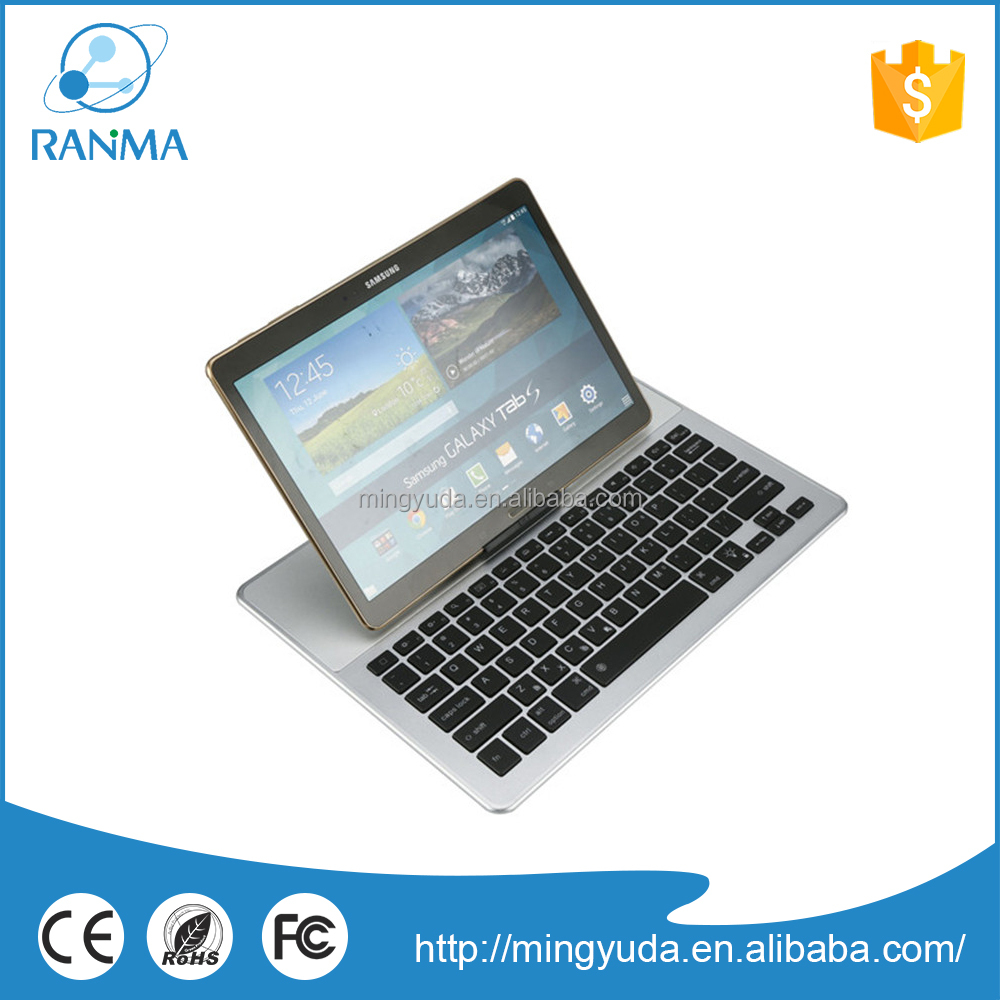 Factory Customized wireless tablet pc aluminum keyboard case