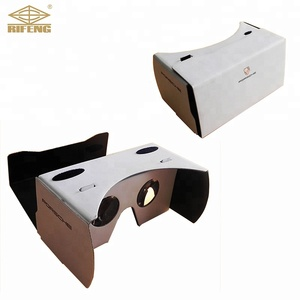 High Quality Google Cardboard 3D VR Glasses V3 Custom Printing