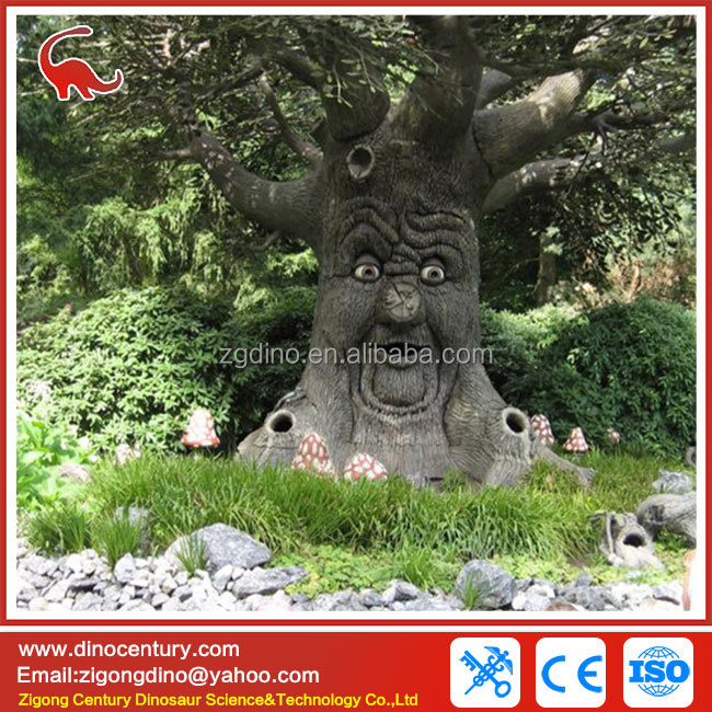 christmas decoration cartoon tree animatronic talking tree