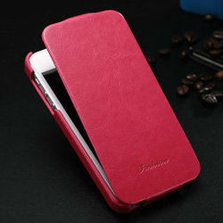 Rose pu leather cover for iphone 5 new design cases for iphone5 leather flip case for iphone 5