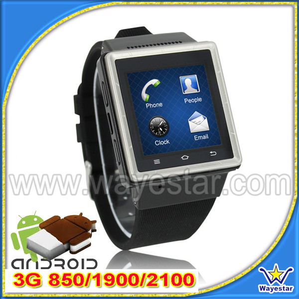 Cheap Price Android 4.0 MTK 6577 Smart Watch Phone