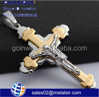 good quality cross,fashion jewelry accessories, metal cross