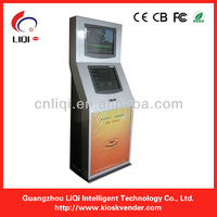 Top Quality Dual Touch Screen Kiosk Case For Payment