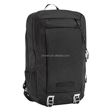 Black custom laptop backpack cordura fabrinc bag