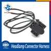 Oem Online Shopping car headlight 3 pin connector male female motorcycle wire harness