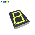 Famous aboard FND 1 digit 2.3inch common anode white color LED seven segment display