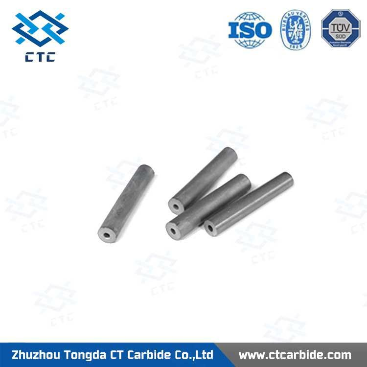 solid tungsten carbide rods for satellite positioning nozzles, solid carbide rods blanks