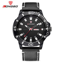 Longbo brand stainless steel back water resistant chronograph watch american sports watches