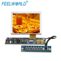small lcd 5 inch SKD Module Monitor 4 Wire Resistive Touch 640*480 Resolution LCD Display