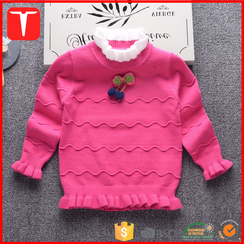 Latest girls designs sweater for kids