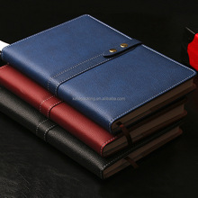 Set office gifts 2016 journal travel business gift note book with pen and name card holder