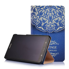 7 inch tablet case,flip leather case for samsung Tab A 7.0 T280