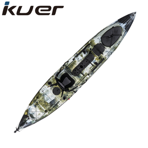 Professional Roto-molded PE fishing kayak 14ft
