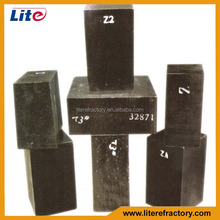 Refractory Fire Brick Magnesia Alumina Carbon Bricks for the Wall&Bottom of Steel Ladle Furnace