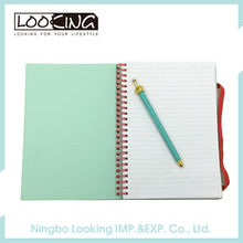 LOOKING High Quality Custom Printed Spiral Notebook