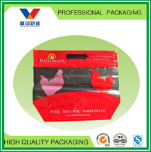 chicken plastic bag for hot deli/plastic bags for barbecue/transport bag for grilled chicken