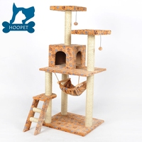 Factory Price Cat Furniture For Scratching Cat Tree Tower Pet Toys