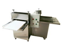 Snack Food Cutting Machine for Cutting Rice Candy/Corn Cake/Caramel Treat