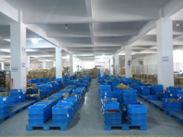 Material in warehouse