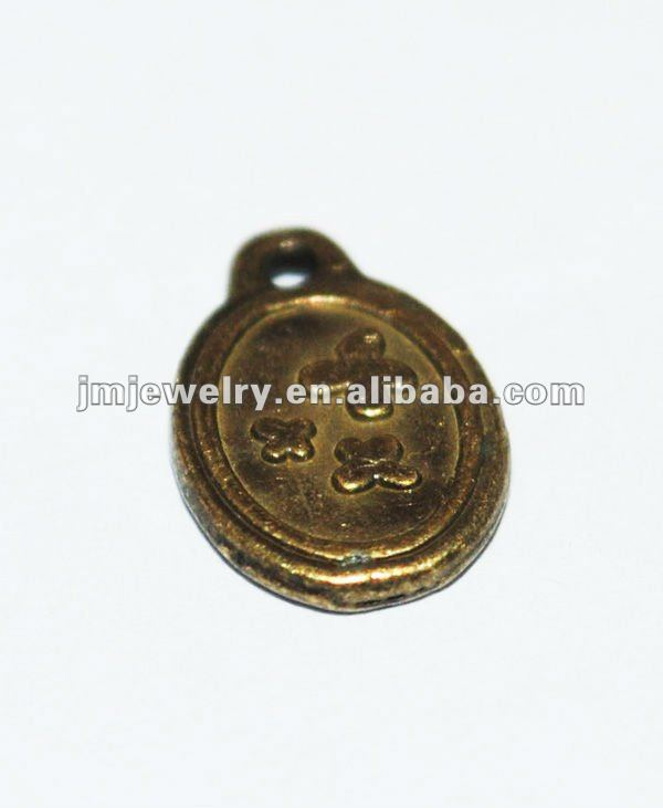 Pure brass voal design for jewelry charms for women
