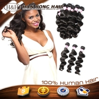 Best Selling Aliexpress Real Mink Brazilian Hair, Hot Selling Brazilian Loose Deep Wave Hair Weave