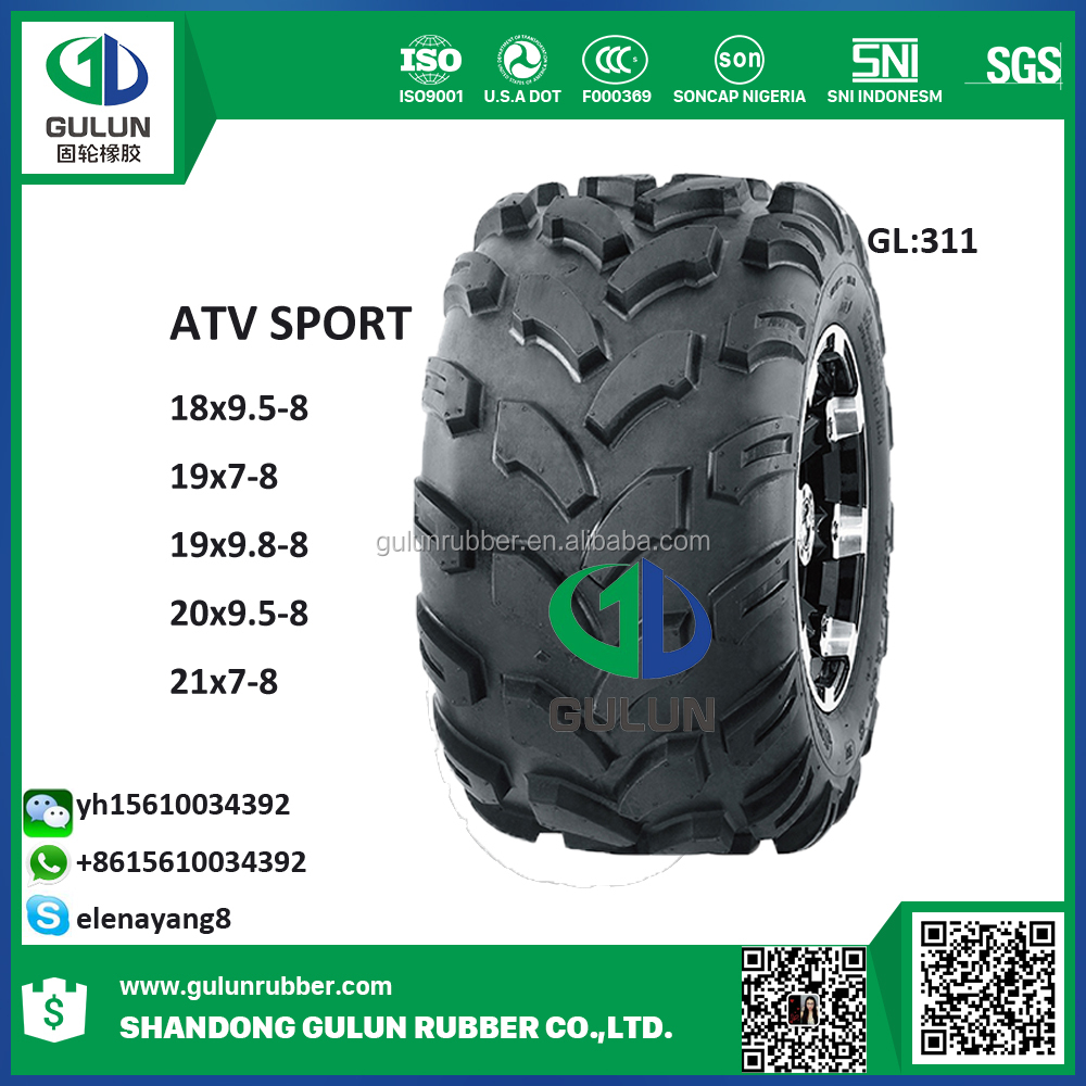 CHINA ATV TIRES/TYRES 25x10-12 25x8-12 270/30-14 185/30-14 16x8.00-7 AVT tires for sale