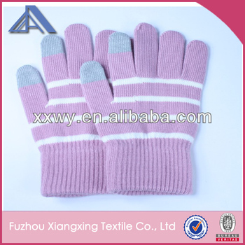 smart touch gloves with logo