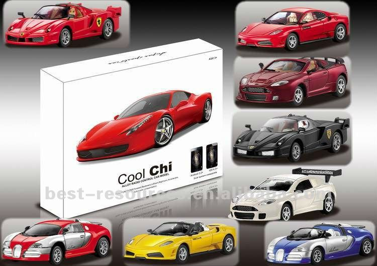 1:43 IPHONE CONTROL MINI ALLOY / METAL CAR 4 MODELS 5 COLORS
