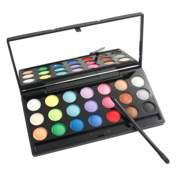Wholesale 21 color make up palette eyeshadow