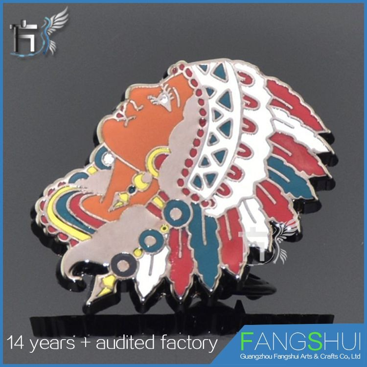 Artgifts high quality custom enamel badge pin dropshipping