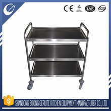 Professional custom trolley wheel stainless steel trolley