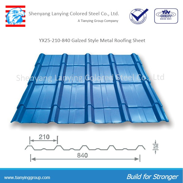 Pre painted galvanized metal roofing corrugated sheet for prefab home