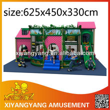 Tiny pink commercial indoor playground equipment for home